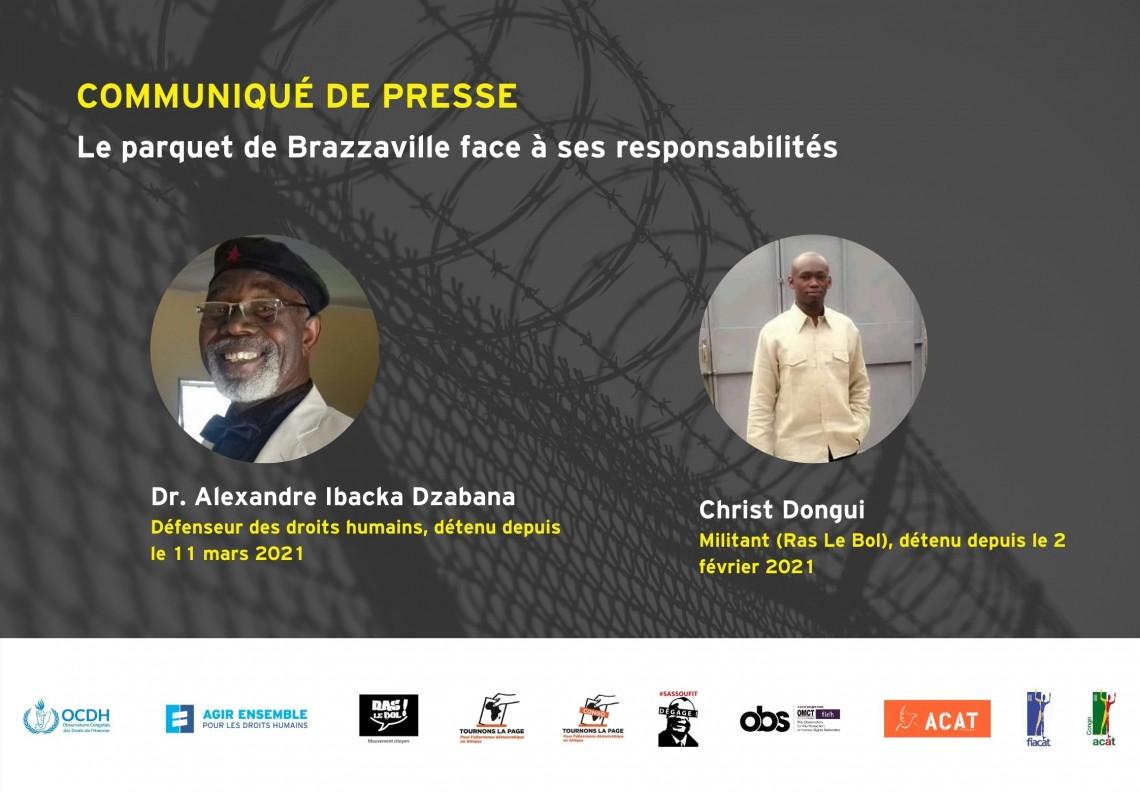 COMMUNIQUE – Le parquet de Brazzaville face à ses responsabilités